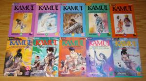 Legend of Kamui #1-37 VF/NM complete series A GENUINE NINJA STORY viz manga set