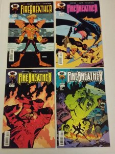FireBreather 1-4 Complete Set Run! ~ VERY FINE - NEAR MINT NM ~ 2003 IMAGE COMIC
