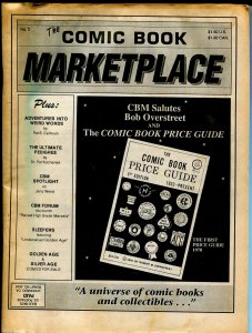 Comic Book Marketplace #2 1991-historic fanzine-ads-info-FN
