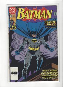 BATMAN #468  DC COMICS NM