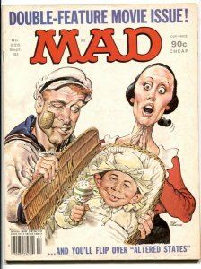 Mad Magazine #225 1981-Popeye cover- Celebrity Diapers!!!