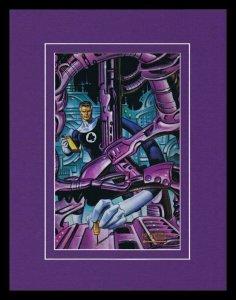 Mr Fantastic Reed Richards 1993 Framed 11x14 Marvel Masterpieces Poster Display