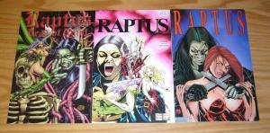 Raptus #1-2 VF/NM complete series + dead of night - knight angel/high impact