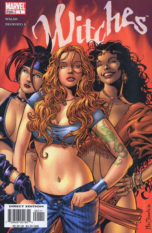 Witches #1 VF/NM; Marvel   save on shipping - details inside