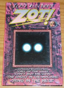 Scott McCloud's Zot! HC 3 VF/NM kitchen sink press SIGNED & NUMBERED (93/500)