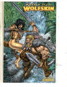 Warren Ellis Wolfskin # 1 Annual Wrap Cover Avatar Press Comic Book JC9