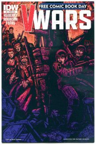 V WARS #0, NM, FCBD, IDW, Vampires, Horror, 2014, more Promo / items in store