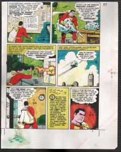 Hand Painted Color Guide-Capt Marvel-Shazam-C35-1975-DC-page 37-VG
