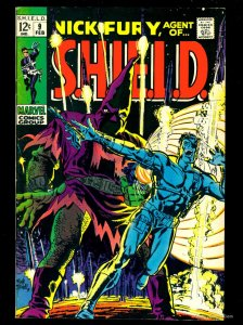 Nick Fury, Agent of SHIELD #9 VF- 7.5 Tongie Farm Collection Marvel Comics