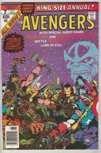 Avengers, the King-Size Annual #7 (Nov-77) VF/NM High-Grade Avengers