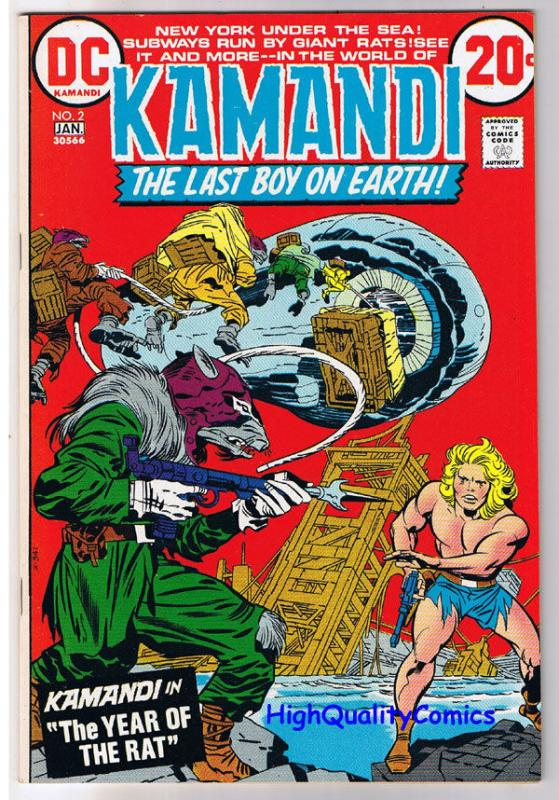 KAMANDI #2, VF/NM, Jack Kirby, Year of the Rat, 1972, more in store
