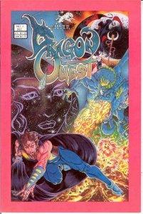 DRAGON QUEST (SILVERWOLF) 1 VF-NM VIGIL   Dec. 1986 COMICS BOOK