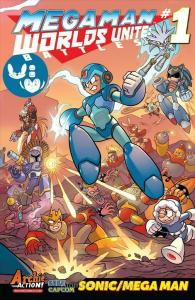 Mega Man: Worlds Unite Battles #1 VF/NM; Archie | save on shipping - details ins