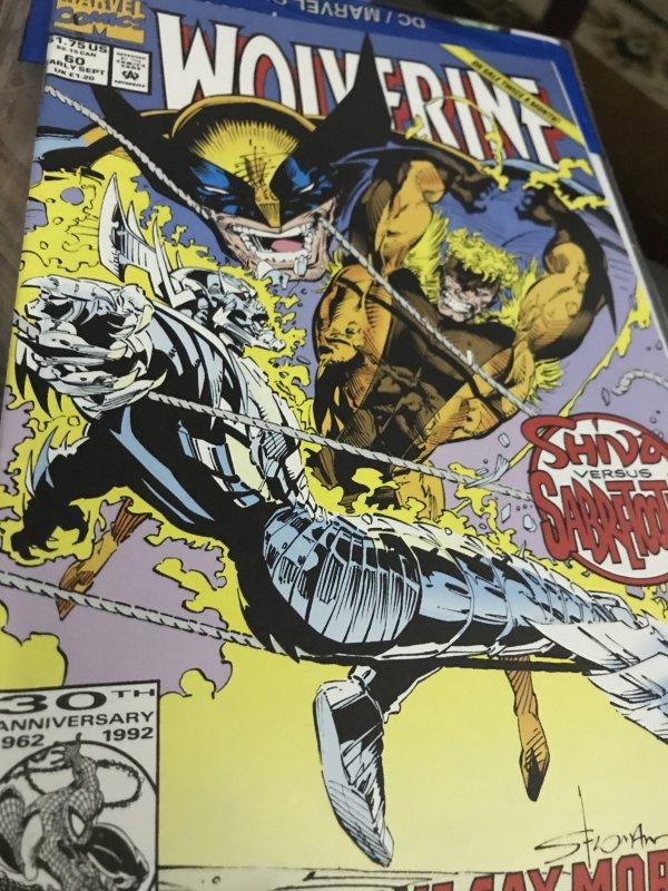 Marvel Wolverine #60 Mint Hot