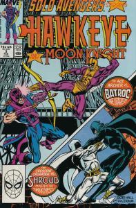 Solo Avengers #3 FN; Marvel   save on shipping - details inside
