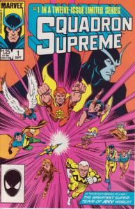 Squadron Supreme (1985 series) #1, VF- (Stock photo)