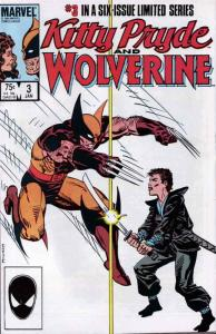 Kitty Pryde And Wolverine #3 VF/NM; Marvel | save on shipping - details inside