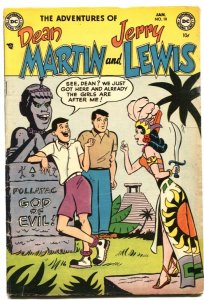 ADVENTURES OF DEAN MARTIN AND JERRY LEWIS #10-1954-AZTEC GIRL-EVE ARDEN