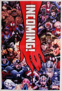 Marvel Incoming 2019 Folded Promo Poster [P31] (36 x 24) - New!
