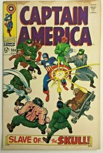 CAPTAIN AMERICA#104 VG 1968 MARVEL SILVER AGE COMICS