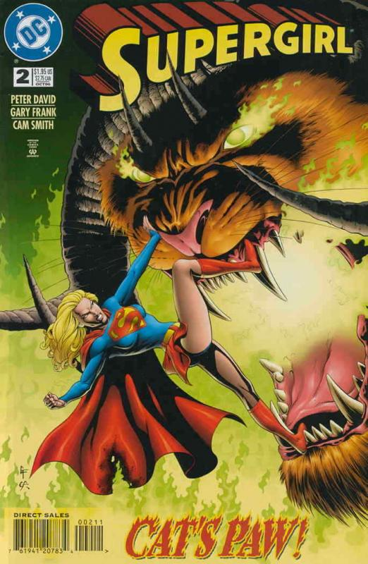 Supergirl (3rd Series) #2 VF/NM; DC | save on shipping - details inside