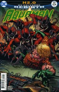 Aquaman (8th Series) #22 VF/NM; DC   save on shipping - details inside