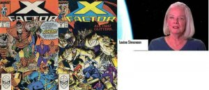 X FACTOR 41-42  Louise Simonson  1st app ALCHEMY