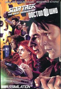STAR TREK Next Gen / DOCTOR WHO Assimilation 2 HC, NM, 1st, more IDW in store