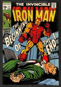 Iron Man #17 FN+ 6.5 Marvel Comics