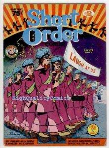 SHORT ORDER #2, VG to FN, Underground, 1974, Griffith, Spiegelman, 1st,