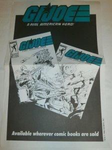 G.I. Joe (Marvel) promotional poster FN