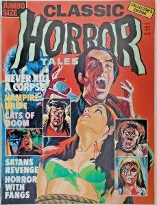 mm Horror Tales (1969) v7 #2vf/nm Jumbo Size! Glossy Cover. Rare.