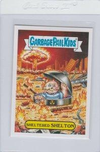 Garbage Pail Kids Sheltered Shelton 12a GPK 2017 Adam Geddon trading card