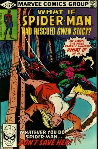 What If... #24 - VF/NM - Spider-Man had Rescued Gwen Stacy?