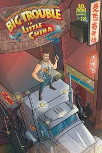 Big Trouble in Little China #18, VF+ (Stock photo)