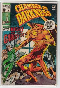 CHAMBER OF DARKNESS (1969 MARVEL) #7 VG- A01627