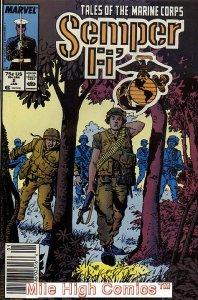 SEMPER FI (1988 Series) #2 NEWSSTAND Very Fine Comics Book