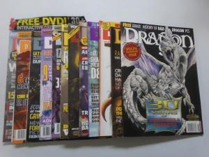 Lot of 12 Dragon10 Different + Anniversary + DVD Issues (2004-2007)