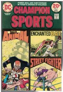 CHAMPION SPORTS (1973) 2 VG-F  Jan. 1974