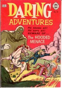 DARING ADVENTURES (1963-1964 SUPER) 15 FINE HOODED MENA COMICS BOOK