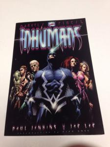 Marvels Finest The Inhumans TPB Paul Jenkins 1st Print Near Mint