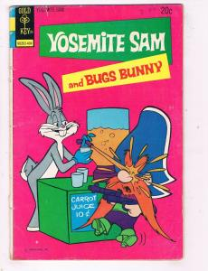 Yosemite Sam & Bugs Bunny #20 VG/FN Gold Key Comic Book Looney Tunes 1974 DE48