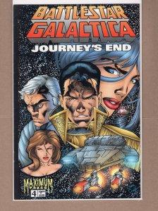 Battlestar Galactica: Journey's End #4 (1996)