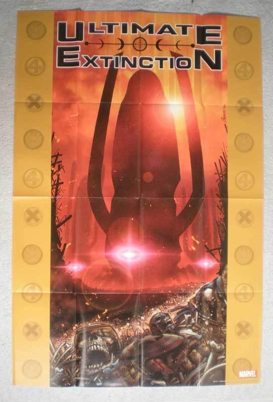 ULTIMATE EXTINCTION Promo Poster, 24x26, 2005, Unused, more Promos in store