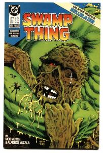 SWAMP THING #67 comic book-1987 HELLBLAZER 6 pg preview-nm-
