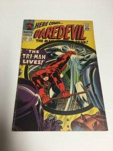 Daredevil 22 Fn+ Fine+ 6.5 Marvel Comics Silver Age