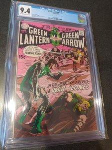 GREEN LANTERN #77 CGC 9.4 NEAL ADAMS