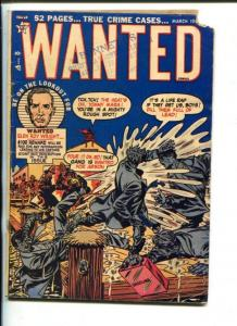 WANTED #35-1951-TOYTOWN--SOTI-FIREFIGHTERS-PRE-CODE CRIME-good