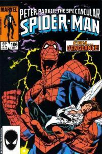 Spectacular Spider-Man (1976 series) #106, NM- (Stock photo)