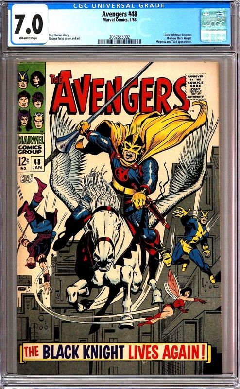 Avengers #48 - 1st new Black Knight